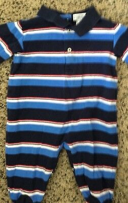 Ralph Lauren polo style 9m 9 month romper one piece exceptional condition