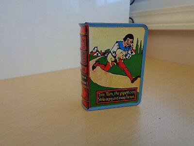 NM Vintage Tin Litho Toy Coin Bank-Tom-Tom the Piper's Son-Kirchof USA