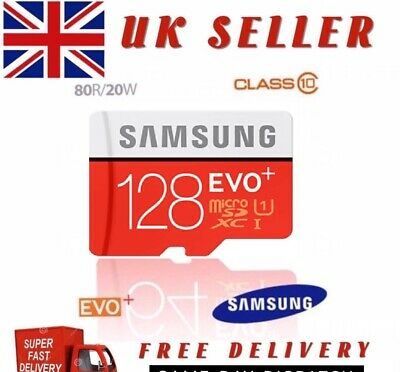 Samsung Memory Evo Plus 64GB UHS 1 Micro SD Card Class 10 with Adapter