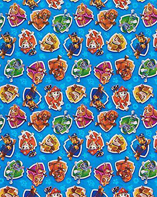 Paw Patrol Wrapping Paper Roll Gift Wrap Any Occasion 20 Sq Feet