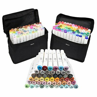 218 Color Set Oil marker Pen Dual Headed Artist Sketch Copic Animation FOR TOUCH