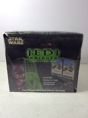 SEALED BOOSTER BOX Star Wars Jedi Knights Trading Card Game, Decipher