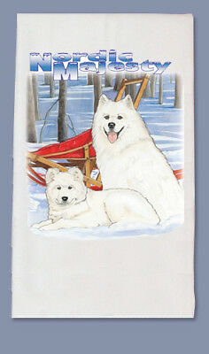 Samoyed Dish Towel
