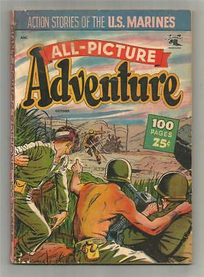 All Picture Adventure Magazine #1, Oct. 1952 - Canteen Kate