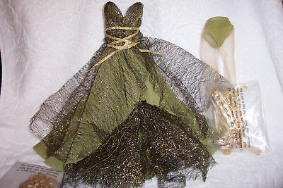 Tonner Ellowyne Wilde Amber Prudence Flowing Green COSTUME