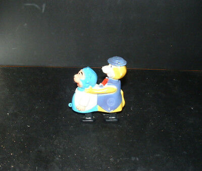 Vintage Hanna Barbera TOP CAT & Benny the Ball RAMP WALKER Toy MARX Great Shape