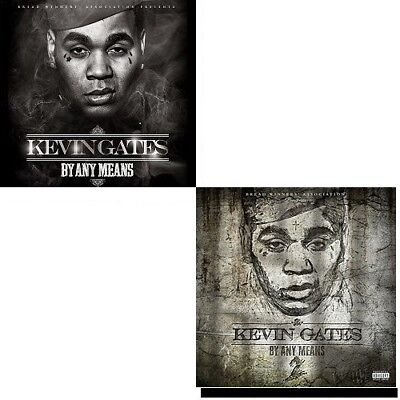 """Kevin Gates (2 Cd Set)- """"By Any Means 1 & 2"""".. (Official Mixtape). Hot!"""