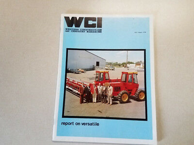 Versatile Tractor Company Report by WCI July/August 1976