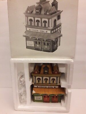 Heritage Village Collection Dickens Series Dept 56 Theatre Royal #5584-0