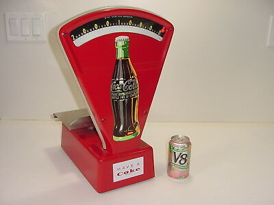Vintage Restored Coca-Cola Coke Bottle Candy Drug Store Advertising Toledo Scale
