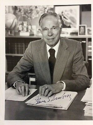 Glenn Seaborg Signed Photo Discoved Plutonium