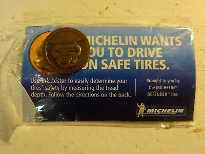 MICHELIN Man Tire Coin Tester Penny Brand New