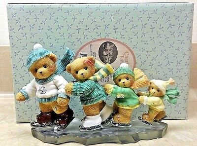 """Cherished Teddies """"Let The Winter Fun Begin"""" 4002843 Limited Edition"""