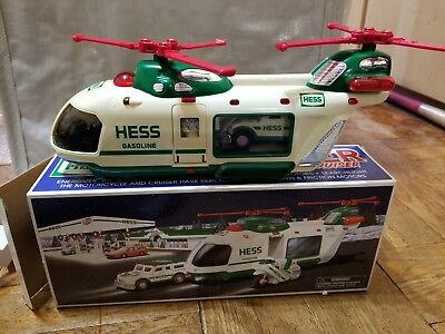 Vintage 2001 Hess Truck / New In Box / (see description about defects)