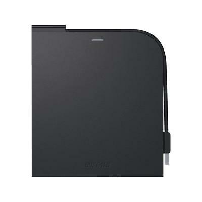 BUFFALO BRUHD-PU3-BK Portable Blu-ray Disc Drive Black From Japan with Tracking