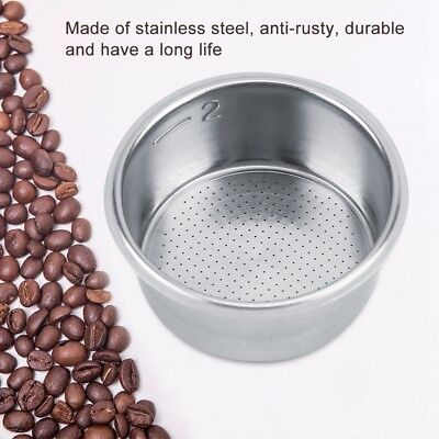 Stainless Steel Coffee Non Pressurized Filter Basket For Breville coffee machine