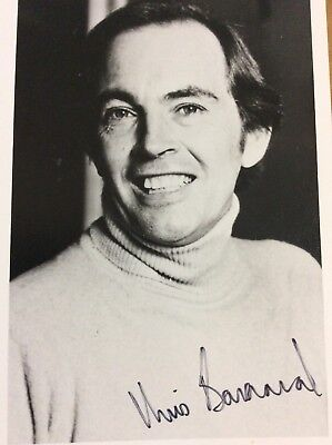 Christiaan  Barnard Signed Photo First Heart Transplant