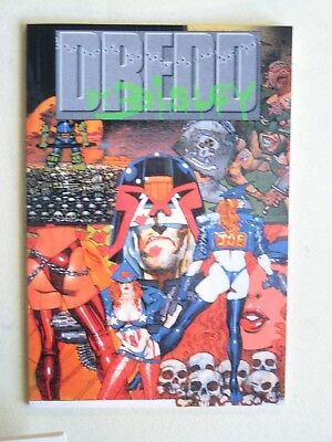 Fleetway/Quality DREDD BY BISLEY (Simon) - softcover