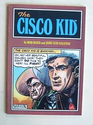 Ken Peirce CISCO KID by Rod Reed / Jose Luis Salinas - 75+ pages newspaper rep