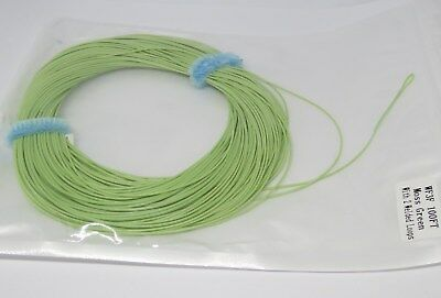 WF-3-F FLY LINE with LOOPS floating fly line / moss green