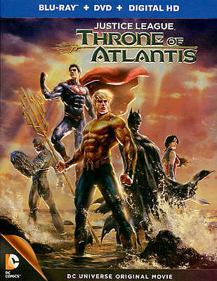 Justice League: Throne of Atlantis BLU-RAY DISC ONLY!! READ CAREFULLY!!!!