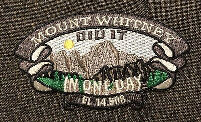 Mt. Whitney California Patch