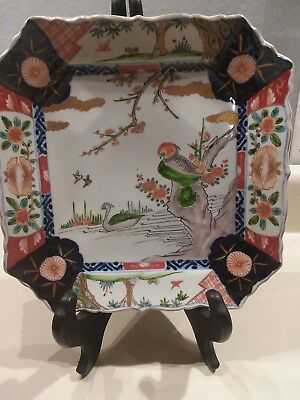 Lovely Antique Chinese Period Imari tray/platter