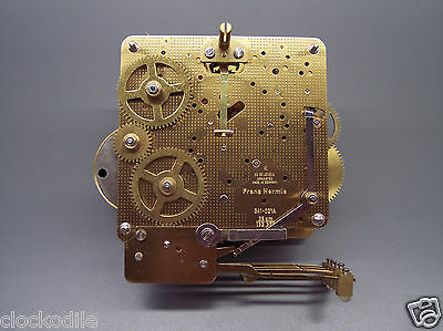 REBUILT HERMLE 341-021 25cm CLOCK MOVEMENT -Read Why Others Arent Really Rebuilt