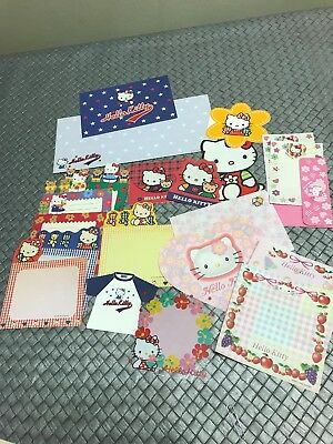 Vintage SANRIO Hello Kitty Minis And One Rare Set 1976 Stationery