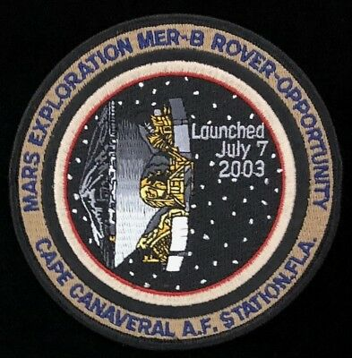 Mars Exploration Mer-B Rover - Opportunity Round Patch