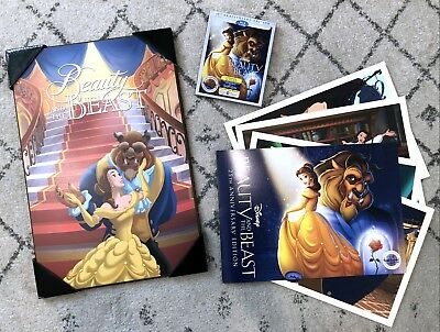Beauty and the Beast 25th Anniversary Ed. Blu-ray/DVD 2-Disc Set Digital + GIFTS