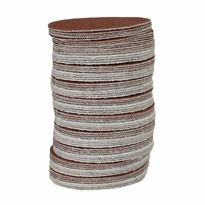 2X(100x Hook And Loop DA Sanding Grinding Abrasive Pad Mixed Grit 3inch 75mm 2*
