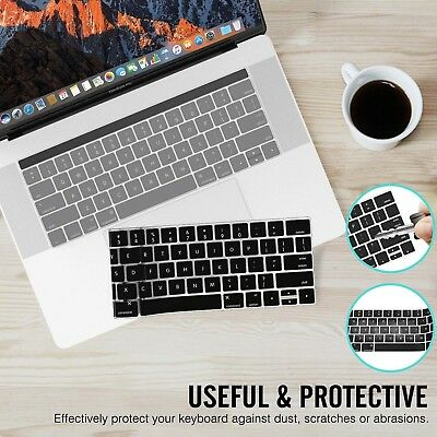 "2 Packs Clear/Black/Pink/Blue Keyboard Cover for 12"" Macbook Retina 2015 A1534"