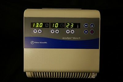 Fisher Scientific accuSpin Micro R Refrigerated Lab Centrifuge - Clean TESTED