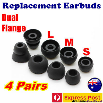 Replacement Silicone Earbuds for Sennheiser OCX 686 CX 686G MM 30G 30i Headphone