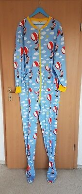 😇 Adult Baby Overall mit Fuß Strampler  Gr. XL