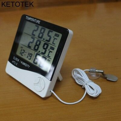 Lcd Thermometer Hygrometer Electronic Creative Temperature Humidity Meter