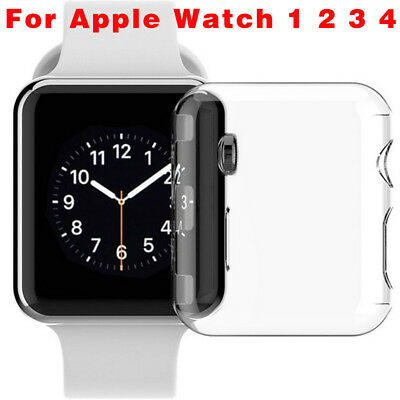 For Apple Watch Series 4 3 2 1 iWatch Case Cover Ultra Thin HD Clear Protective