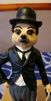 Country Artists Magnificent Meerkats CA04471 Charlie Chaplin Meerkat