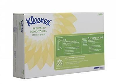 KLEENEX* SLIMFOLD Starter Pack 7996 - 1 x AQUARIUS* Hand Towel Dispenser and...