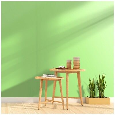 Peel & Stick Wallpaper 17.7in x 9.8ft LightGreen/Lime Tree Green Self Adhesive