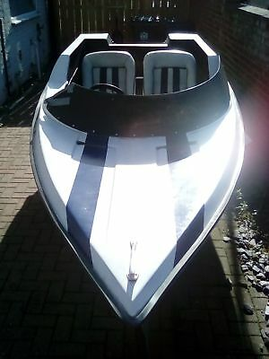 Speedboat project with trailer and outboard