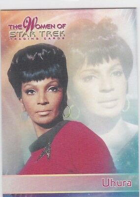 The Women of Star Trek...Promo P2 ....Card