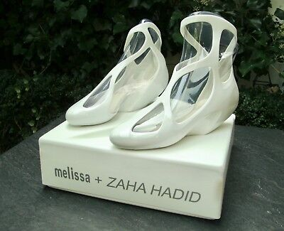 "Melissa ZAHA HADID ""Jelly Vegan Shoes"" Rare Limited Edition UK4 EU37 SOLD OUT"
