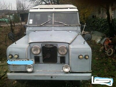 Landrover Series 2 1958 , Series 1 Petrol Engine , Original Early Chassis LHD