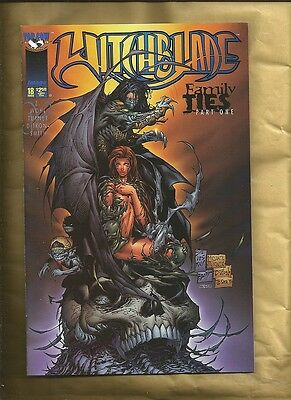 Witchblade #18 vfn/nm 1997 variant cover edition Image Comics US comics