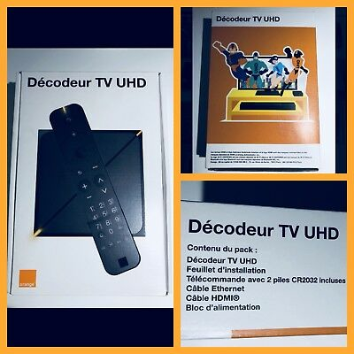 Decodeur UHD 2018 Orange