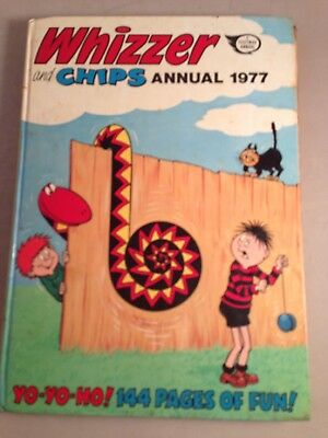 The Whizzer And Chips Annual 1977 Hardback Book