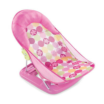 Summer Infant 19106 Deluxe Baby Bather Circle Daisy Pink Suitable From Birth