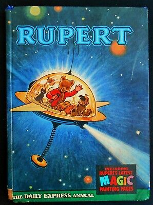 1966 Rupert Bear Annual, Most Magic Paintings Untouched, Unscribed/unclipped 6/-